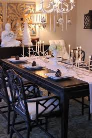black lacquer dining room furniture. white faux bamboo chandelier mercury glass u0026 icicle ornaments custom made solid wood glossy chairsbamboo furnitureblack buffettufted dining black lacquer room furniture h