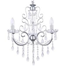 madonna 3 light dual mount chrome chandelier free delivery