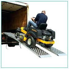 Box Truck Ramps Lawn Mower Ramps For Trucks Ramp Box Truck Pickup ...