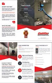 cadillac industrial cleaning services inc industrial cleaning industrial cleaning brochure