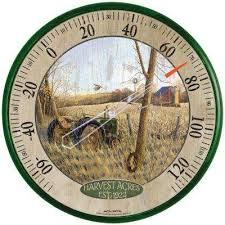 12 5 in harvest acres og thermometer