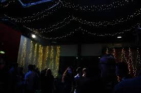 Both Rooms Were Decorated With Many Strings Of Fairy Lights, Creating A  Warm And Welcoming Feeling When Walking Into The Rooms.