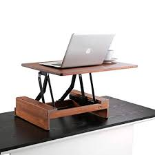 stand up desk wood. Perfect Stand Comix Standing Desk Height Adjustable Converter Size  24u0026quotx36u0026quot Laptop Stand And Stand Up Wood A