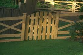 wood picket fence gate. Custom Wood Picket Fence Gate