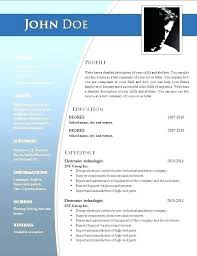 Free Resume Templates For Word 2010 Magnificent Free Sample Resume Templates Word Executive Resume Template Word