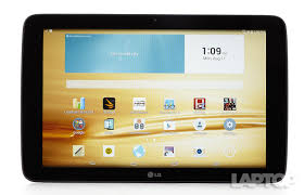lg 10 inch tablet. the highlight of lg g pad 10.1 is its epic battery life, which gives this $250 tablet enough endurance to last all day. also adds some neat features, lg 10 inch