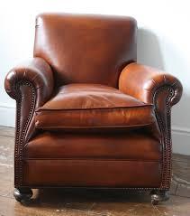 ... Restored 1920s English Club Chair