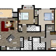 luxury apartment floor plans 3 bedroom.  Bedroom Luxury Apartment Floor Plans With Two Bedroom At Modern Inspiring 3 U2013  On