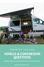 sprinter van faq vehicle conversion questions