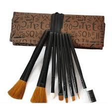 get ations 8pcs set makeup brushes set make up brushes kits eye brushes eyeliner eye shadow