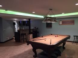 game room lighting. Man Cave Game Room LED Lighting Contemporary-family-and-games-room N