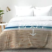 beach themed bedding for s decorating surprising beach themed bedding east urban home happy place x beach themed bedding