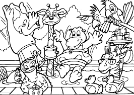 Small Picture Coloring Pages Free Pages Of Animals And Their Homes Within Animal