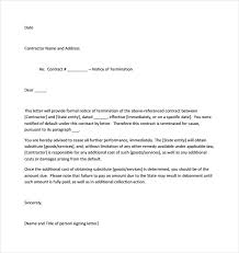 Letter Of Dismissal Template Letter of Termination 100 Download Free Documents in Word PDF 59
