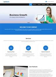 Html Website Template Adorable Business Responsive HTML Web Template Free Download