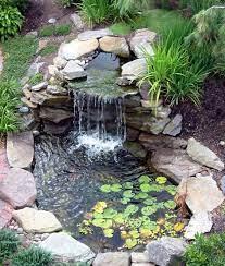 waterfalls backyard ponds