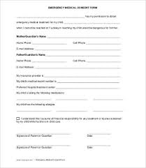 Printable Medical Release Form For Children Gorgeous Medical Consent Form 48 Free PDF Word Documents Download Free