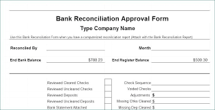 Check Reconciliation Template Bank Reconciliation Template Business Excel Beautysfood Info