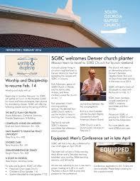 Calaméo - SGBC Newsletter | February 2016