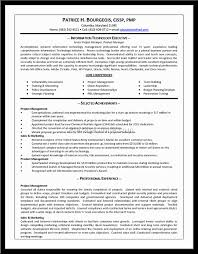 100 Resume Examples For Project Manager Sample Resume For