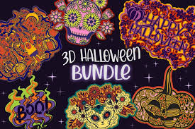 These svg images were created by modifying the images of pixabay. Free Svgs Download 3d Halloween 4 Svg Cut Files Free Design Resources