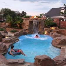 Best Pools And Spas Images On Pinterest Backyard Ideas