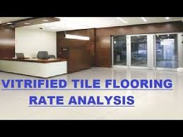 vitrified tile flooring rate ysis