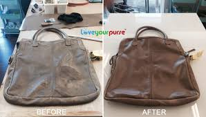 cleaned coach handbag