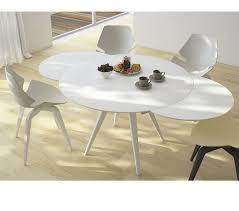 elan metallo round extending dining table 0