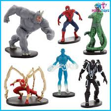 Disney Marvel Ultimate Spiderman Figurine Figure Play Set Cake