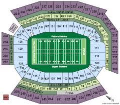 Lincoln Financial Center Philadelphia Seating Chart 19 All Inclusive Lincoln Financial Stadium Seating Chart