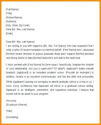 Recommendation Letter For Employment A Friend Writing Of Reference ...