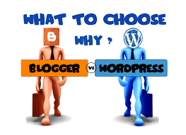 Image result for wordpress vs blogger