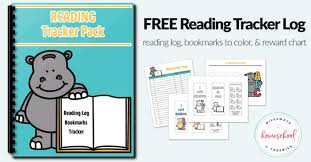 Free Reading Logs Bookmarks And Charts Homeschool Giveaways