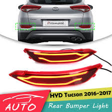 Hyundai Tucson Rear Light Us 53 24 25 Off Red Led Rear Bumper Tail Light For Hyundai Tucson 2016 2017 Driving Brake Lamp In Car Light Assembly From Automobiles Motorcycles