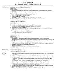 Medical Device Resume Examples Medical Device Resume Samples Velvet Jobs 18