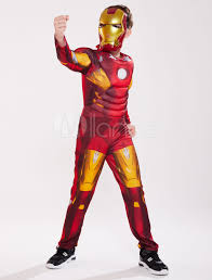 Pypus is now on the social networks, follow him and get latest free coloring pages and much more. Kids Halloween Costume Red Iron Man Cosplay Block Roman Knit Jumpsuit Mask For Boys Halloween Milanoo Com
