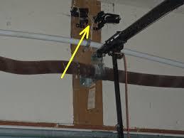 garage door safety sensor wire gauge garage doors