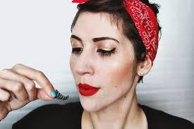 how to create a pin up makeup look pin up makeup tutorial ft