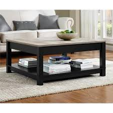 home square rustic 3 piece coffee table