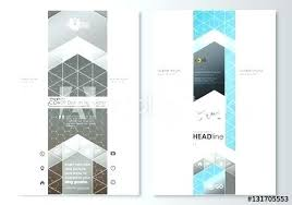 Chemistry Cover Page Designs Thin Line Chemistry Poster Banner Template Vector Image