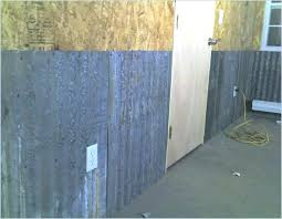 interior garage walls insulating interior garage walls corrugated metal for the journal board wall covering insulating