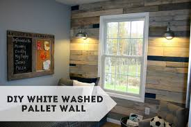 well this time we thought we d take it to the next level and do an entire wall of pallet wood