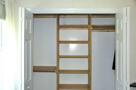 diy closet shelves shelf plans bedroom storage ideas