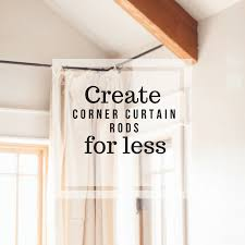 how to hang curtains for less with