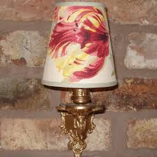 laura ashley gosford small handmade candle clip lampshade for wall lights chandeliers