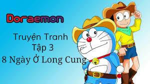 Truyện Tranh Doremon: Tập 3 - 8 Ngày Ở Long Cung - YouTube