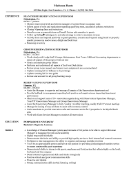 Download Reservations Supervisor Resume Sample as Image file
