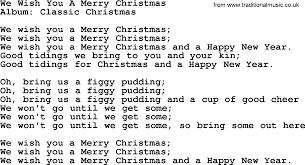 We Wish You A Merry Christmas, by George Strait - lyrics