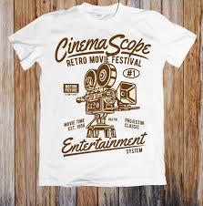 <b>CINEMA SCOPE RETRO MOVIE</b> FESTIVAL UNISEX T SHIRTFunny ...